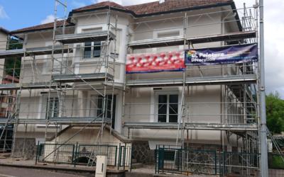 Rénovation de façade à La Bresse