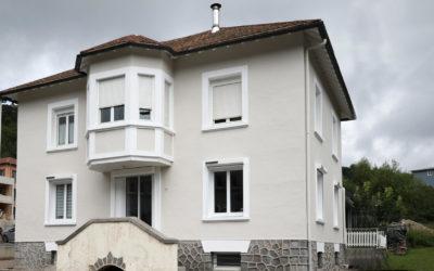 Rénovation de façade à Cornimont
